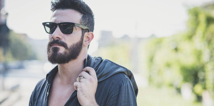 Huile de ricin pousse barbe