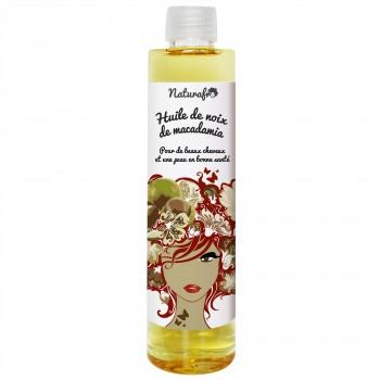 Huile de macadamia pour cheveux et visage