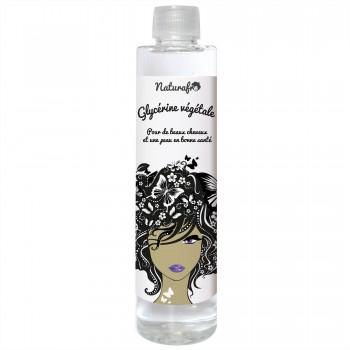 Glycérine pour le maintien des cheveux hydratés