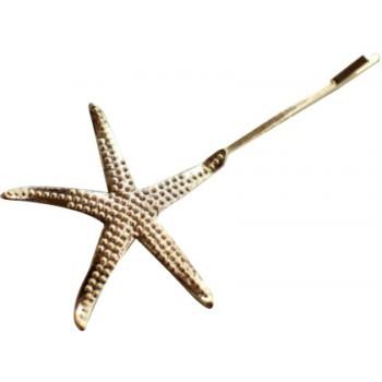 Épingle dorée étoile de mer