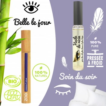 Offre duo mascaras jour & nuit - Naturafro / Zao