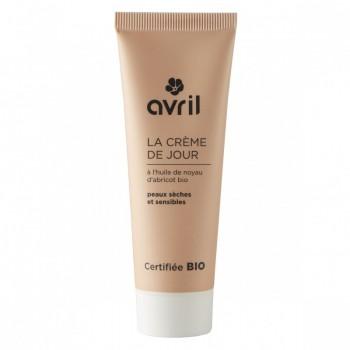 Crème de jour bio pour peaux sèches - Avril