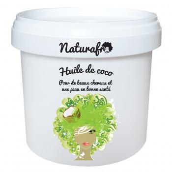Huile de coco végétale et naturelle pour le soin de vos cheveux.