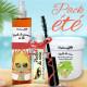 Huile de ricin cils, huile de germe de blé et huile de coco
