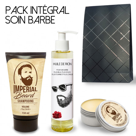 Pack soin naturel et beauté de la barbe