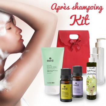 Kit pour un après shampoing 100% naturel à faire soi-même