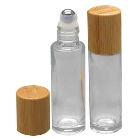 Flacon vide Roll on 10ml en verre et son mini entonnoir offert