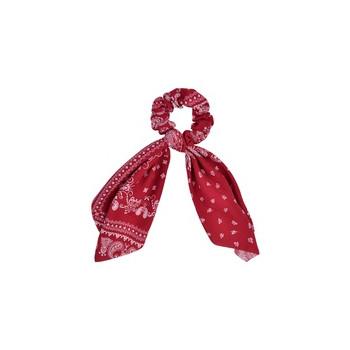 Chouchou foulard vintage rouge