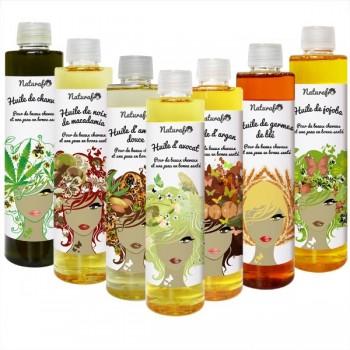 huile vegetale pour le visage