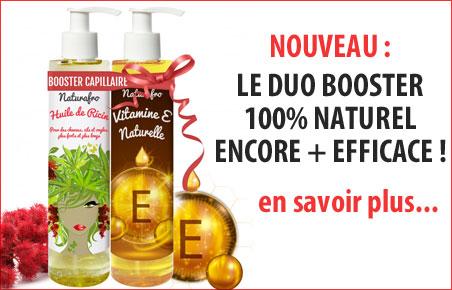 Ricin cheveux et vitamine E