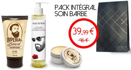 Huile de ricin barbe + shampooing barbe + cire