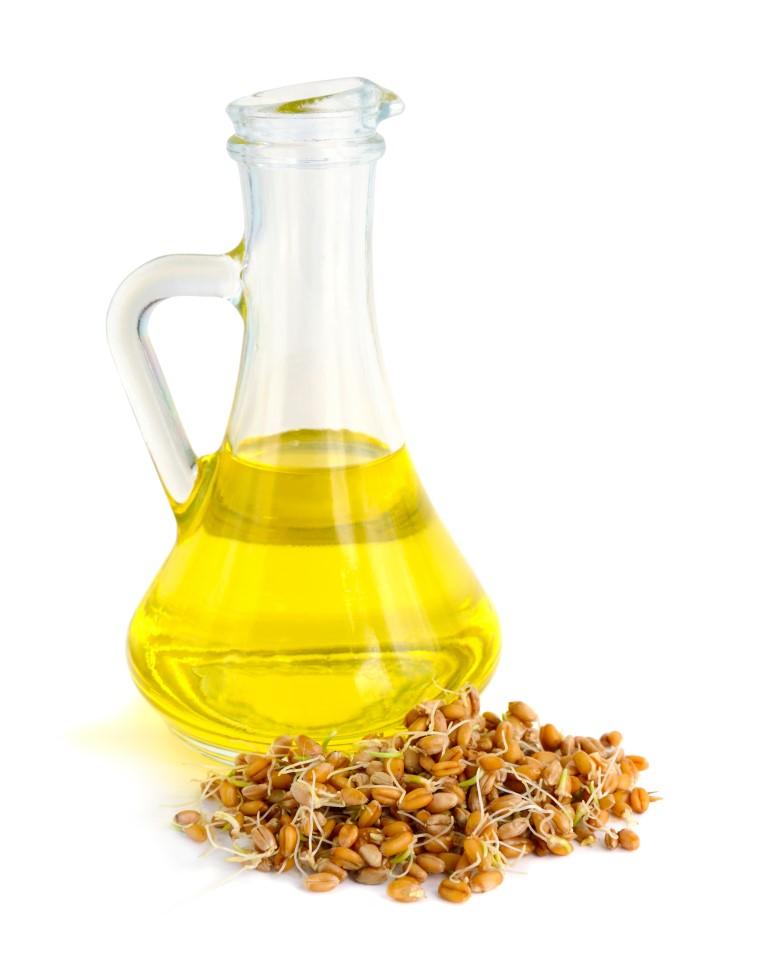 soin avec l'huile de germe de blé